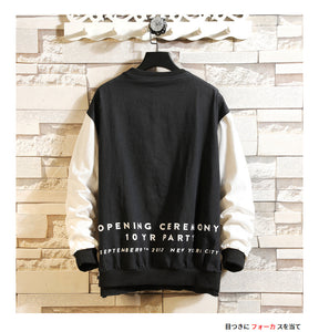 Sweatshirt Cartoon Print Japanese Music