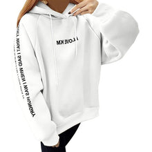 Load image into Gallery viewer, Sweat Women Casual Pullover Loose Thickened Feminine Hoodies