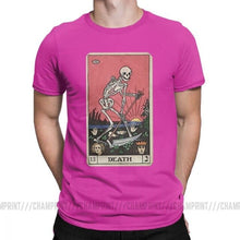 Load image into Gallery viewer, Death Tarot T-Shirt for Men 100% Cotton T Shirts Plus sizes 4XL