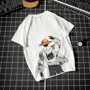 Various Styles of T-shirt Men's Females Summer Trend Loose