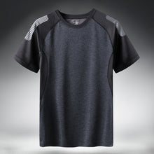 Load image into Gallery viewer, Tech T Shirt Men Gym Big Sizes