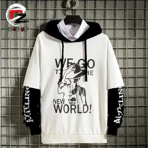 Two pieces 90´s Grunge style Hoodie New World