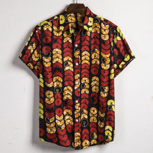 Load image into Gallery viewer, Men Dashiki Loose Shirt African Ankara Retro Clothing