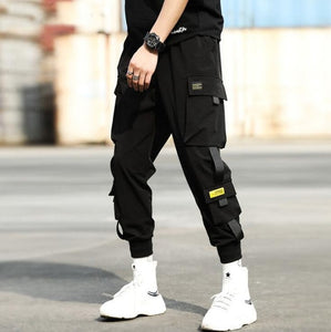 Cargo 2020 Hip Hop Multi-pocket Elastic Waist Pants