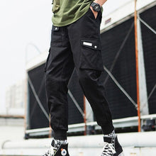 Load image into Gallery viewer, Cargo 2020 Hip Hop Multi-pocket Elastic Waist Pants