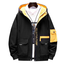 Load image into Gallery viewer, Jacket Slim Fit High Quality Hooded Casual Jackets Zipper