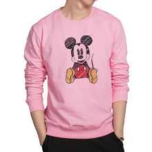 Load image into Gallery viewer, Mickey Hand printing cartoon Sweatshirt 3 colors