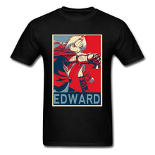 Load image into Gallery viewer, Anime Fullmetal Alchemist T-Shirt Edward Japanese Manga