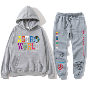 Sweatshirt + Sweatpant TRAVIS SCOTT ASTROWORLD Tour