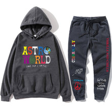 Load image into Gallery viewer, Sweatshirt + Sweatpant TRAVIS SCOTT ASTROWORLD Tour