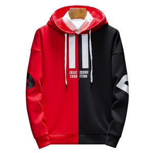 Because Greatsome Condtion Hoodies Men's Hip Hop wear