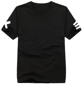 T-shirts Hip Hop Streetwear XX = Rock Tee shirt