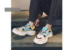 Load image into Gallery viewer, Unisex Balenciaga `Style` Triple S chunky sneakers Leather and Mesh