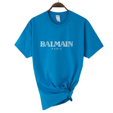 Load image into Gallery viewer, Print of Balmain Paris Women´s Tshirt