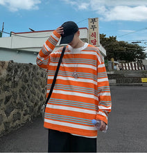 Load image into Gallery viewer, Korean Trend Long Stripes Oversize look Man / Woman