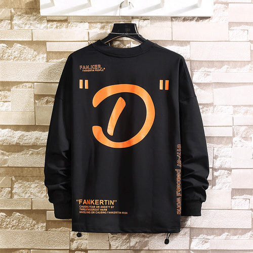 Men's *D* Crewneck Sweatshirt Oversized