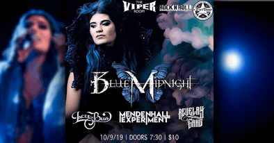 BLUE MIDNIGHT to headline Viper Room show