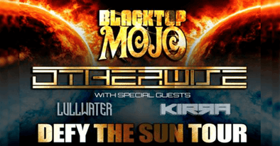 DIRTBAG Artists KIRRA join Blacktop Mojo and Otherwise for DEFY THE SUN tour