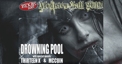 DIRTBAG Artists ThirteenX and McCuin with DROWNING POOL