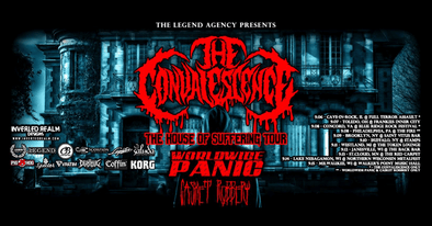 THE HOUSE OF SUFFERING Tour rolls deep with 3 Dirtbag Endorsed Artists