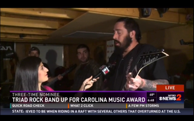 "Dirtbag Artists ""WHAT HAPPENED YESTERDAY"" nominated for Carolina Music Award"