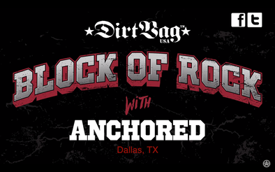 Anchored - Dirtbag Block of Rock
