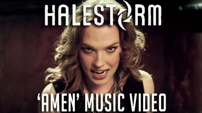 HALESTORM new video - AMEN