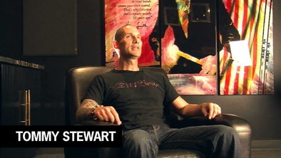 TOMMY STEWART - Vic Firth artist Spotlight - Nice Shirt!!