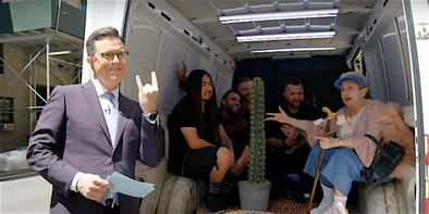 FLAW gets a new van, courtesy of Colbert