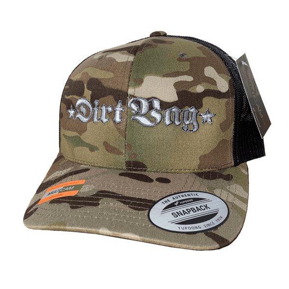 BADASS - Core - Multicam Curved Bill Trucker - Limited Edition