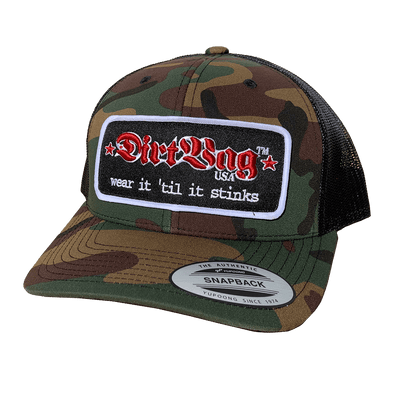 MARQUEE - Core - Curved Bill Trucker Hat - Camo