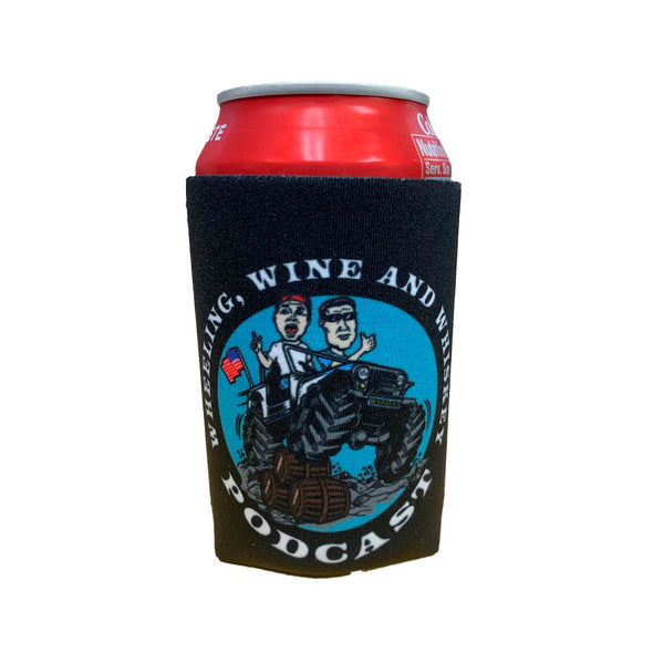 Wheeling Wine and Whiskey - Magnetic Koozie