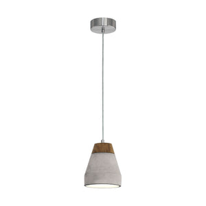 TAREGA H/L 60W E27 WOOD W GREY CONCRETE