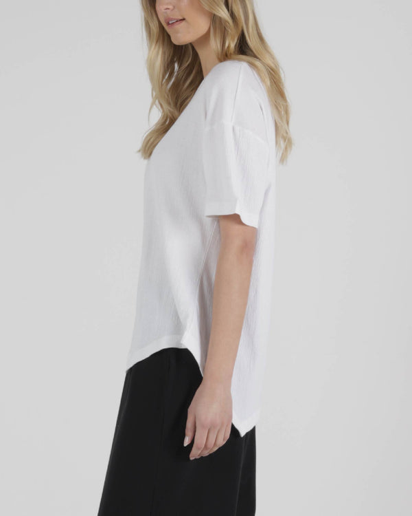 Florence Top - White