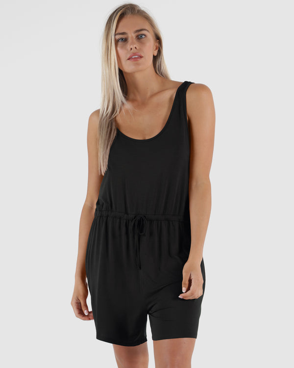 Laguna Playsuit - Black