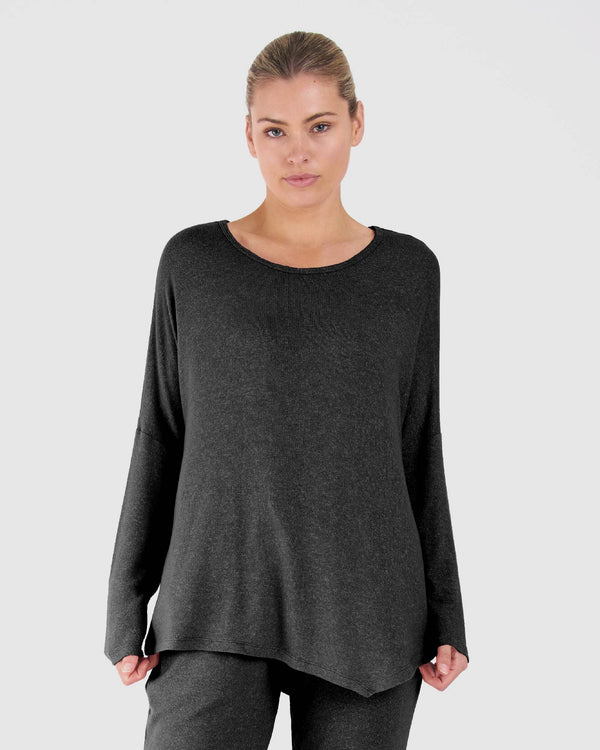 Darcy Top - Charcoal