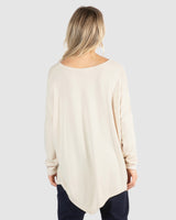 Darcy Top - Oatmeal