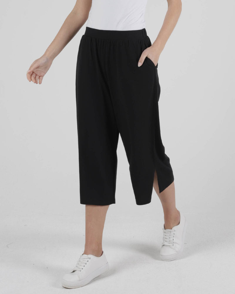 Palos Crop Pant - Black