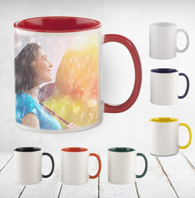 Taza Interior de Color Sublimada - Personalizado