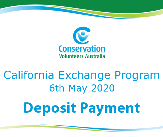 2020 California Exchange Program Deposit