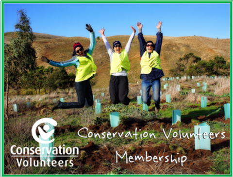 Conservation Volunteers Australia Membership