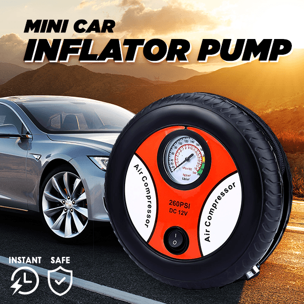 Mini Car Inflatable Pump