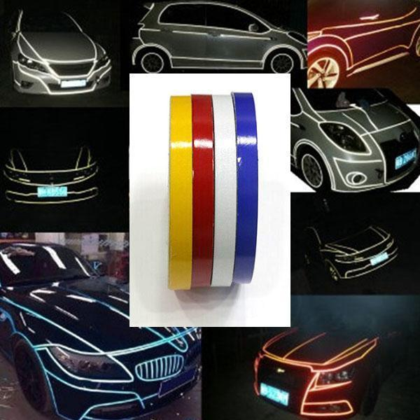 Retrofitting Reflective Strips For Cars