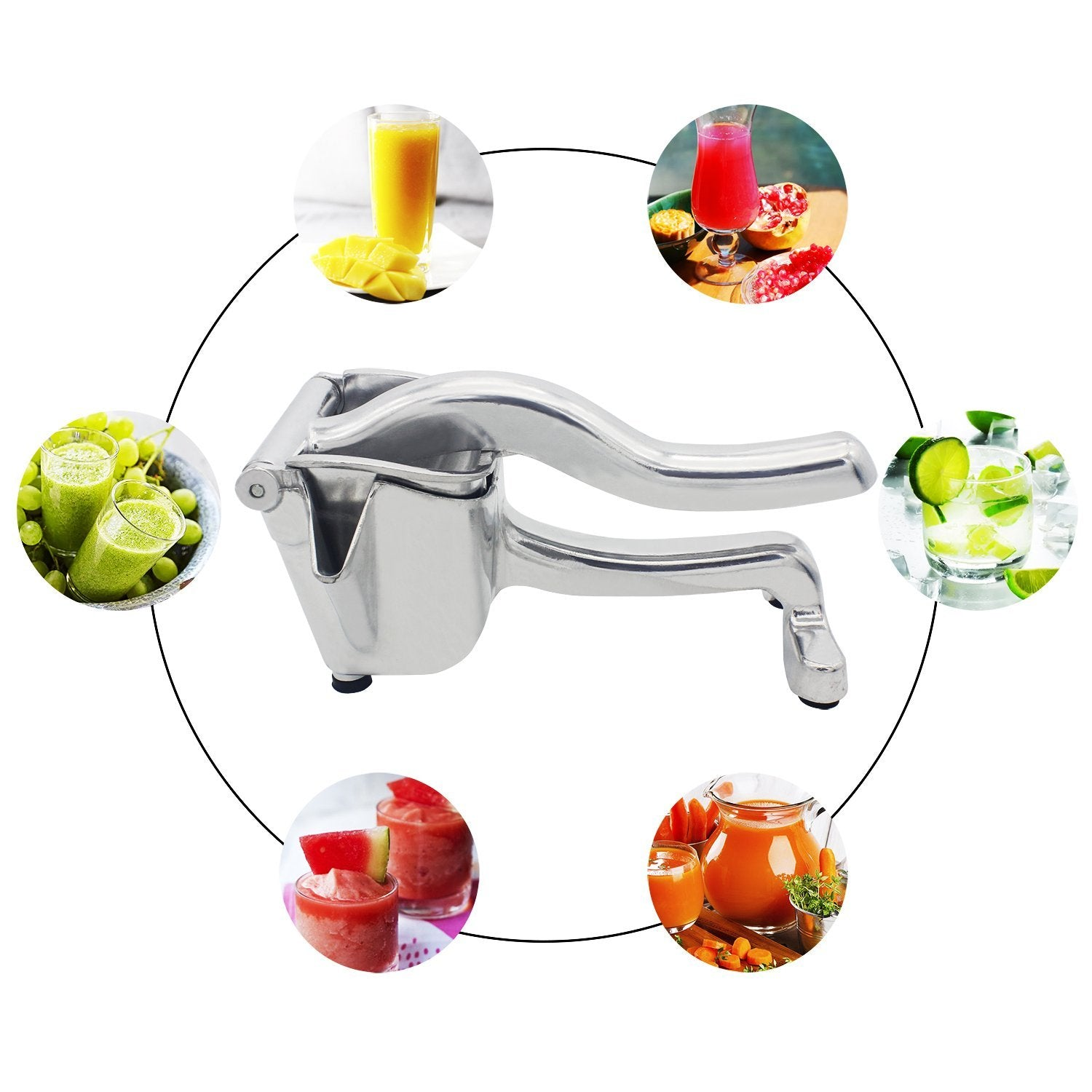Fruit Vegetable Manual Press Juicer
