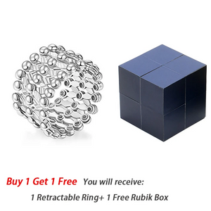 【Buy 1 Get 1 Free】Creative S925 Silver Ring, Bracelet And Puzzle Jewelry Box