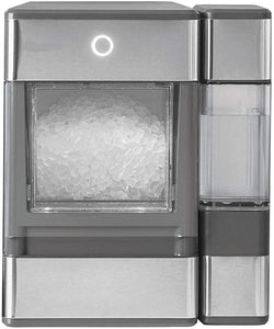 Ice Cubes Ready in 6 Mins-Portable Ice Machine glass