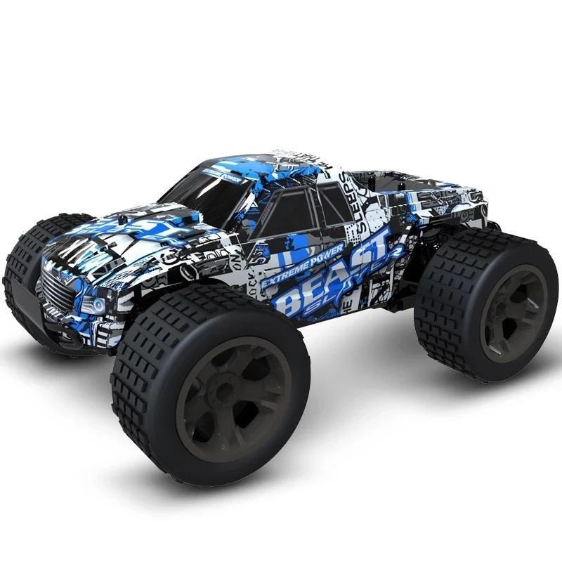 H blue (HOT SALE!!!!) RC Car Off-Road Rock - 4X4 MONSTER TRUCK