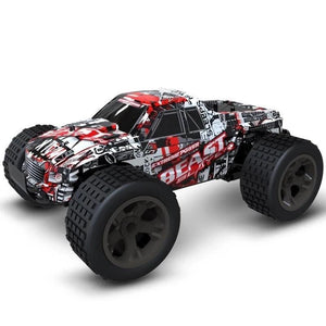 H red (HOT SALE!!!!) RC Car Off-Road Rock - 4X4 MONSTER TRUCK