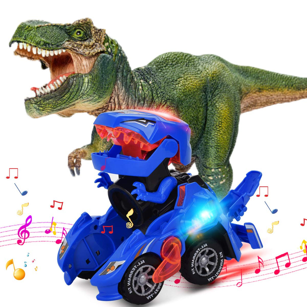 【50% OFF】Transforming Dinosaur LED Car(🔥Buy three get one free & free shipping🔥)