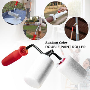 Paint Roller Paint Tool For Pipe Fence Cylindrical Corner - Full-good.com